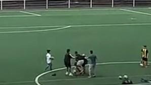 Árbitro violentamente agredido durante jogo de futebol de infantis na Madeira