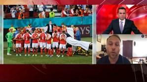 Marco Pina comenta caso de jogador dinamarquês que colapsou em campo