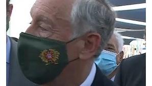 """Marcelo volta a dizer que País """"não vai voltar atrás"""" no desconfinamento"""