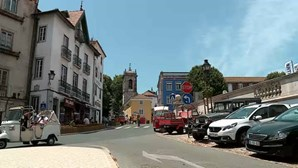 Comerciantes em Sintra preocupados com possível recuo do desconfinamento devido à Covid-19