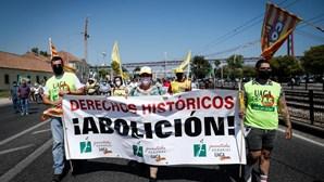 Centenas de agricultores exigem em Lisboa uma política agrícola justa