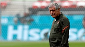 """""""Candidatos a uma vitória em Wembley"""": Fernando Santos na antevisão da estreia de Portugal no Euro"""