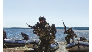 Força de Fuzileiros em missão nas 'barbas' da Rússia