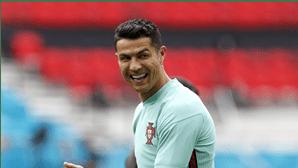 """""""O melhor recorde seria ganhar dois europeus"""", garante Cristiano Ronaldo"""