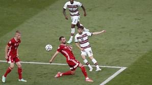 Estreia de Portugal no Euro2020 foi a partida mais vista da competição até agora