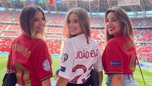 """Musas portuguesas apresentam """"trio de ataque"""" na Hungria"""