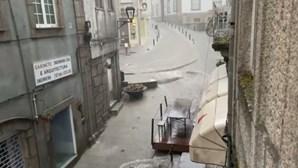 Mau tempo destrói e inunda no Norte e Centro do País