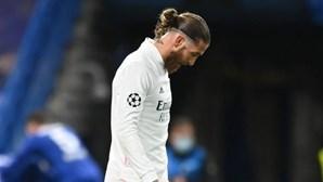Sergio Ramos de saída do Real Madrid