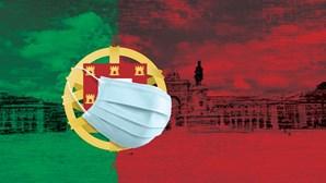 Os número de Portugal em pandemia