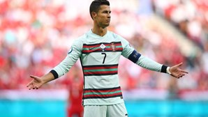Cristiano Ronaldo está a dois golos do recordista mundial de seleções nacionais Ali Daei