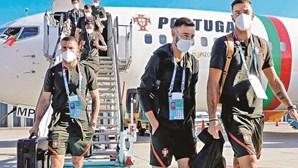 Seleção Nacional acumula mais 3030 km de cansaço do que a Alemanha