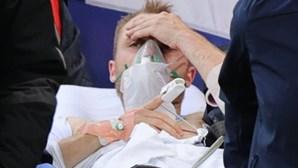 Christian Eriksen já foi operado e deve ter alta hoje