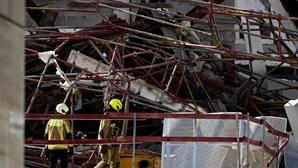 Três portugueses mortos e um desaparecido em desabamento de escola na Bélgica