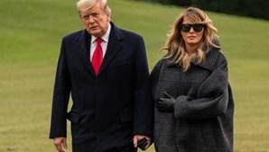 Melania falta ao aniversário do marido Donald Trump