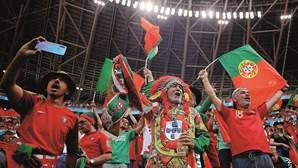 Portugal vai ter 2500 adeptos nas bancadas no jogo frente à Alemanha