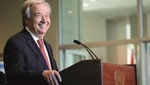 """António Guterres pede """"cooperação"""" porque mundo """"nunca enfrentou tantas ameaças"""""""