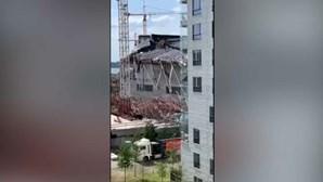 Três portugueses morrem soterrados em desabamento de escola na Bélgica. Um está desaparecido