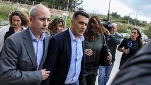 Amante de Rosa Grilo passa dia fechado na cela