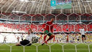 Cristiano Ronaldo iguala Klose na lista de jogadores com mais golos em fases finais de Europeus
