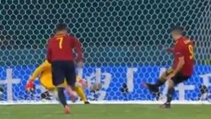 Espanha falha penálti e termina frente a frente com Polónia em empate