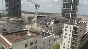 Obras de escola que desabou na Bélgica decorriam à pressa para abrir em setembro