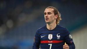 Avançado francês Griezmann quer ganhar jogo do Euro 2020, mas alerta para a qualidade de Portugal