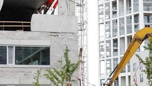 Português dá salto gigante e sobrevive a desabamento de escola na Bélgica