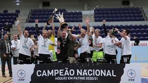Época de sonho para o Sporting a ser campeão em quatro modalidades coletivas