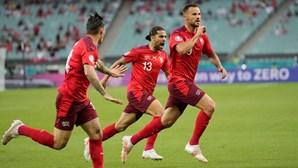 Seferovic abre caminho para vitória de Suíça frente à Turquia