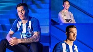 É este o novo equipamento principal do FC Porto para a nova temporada