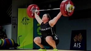 Laurel Hubbard é a primeira atleta transgénero a participar nos Jogos Olímpicos