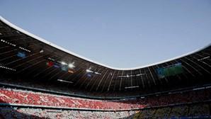 UEFA rejeita iluminação arco-íris no estádio de Munique