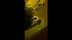 Ladrão apanhado em flagrante a roubar catalisador em Aveiro