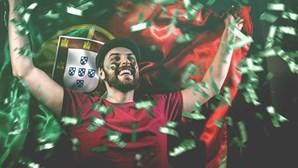 Um em cada seis adeptos acredita na vitória de Portugal no Euro 2020