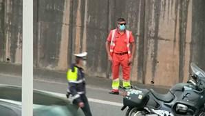 Dois feridos em colisão na A5 em Oeiras