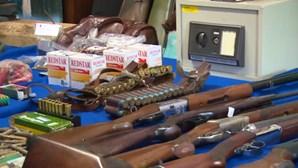 Em menos de quatro meses foram entregues à PSP mais de 2 mil e 200 armas de fogo
