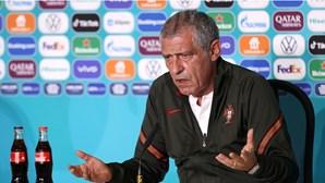 """""""Jogar para ganhar"""": Fernando Santos nem quer ouvir falar na derrota"""
