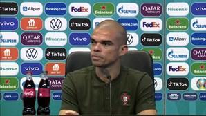 """Pepe: """"Portugal só depende de si próprio para poder qualificar-se"""""""