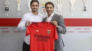 Benfica anuncia Rodrigo Pinho como reforço