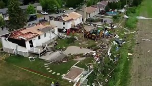 Tornado faz um morto e vários feridos no Canadá