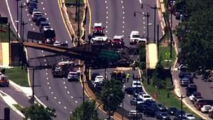 Vários feridos em colapso de ponte em Washington, EUA