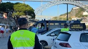 Quatro pessoas multadas por consumo de álcool nas ruas do Porto