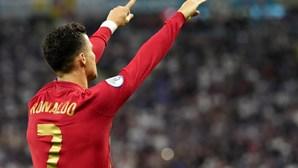 Cristiano Ronaldo bisa frente à França e iguala recorde mundial Ali Daei