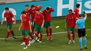 Portugal volta a treinar após empatar com França e seguir para os oitavos de final do Euro 2020