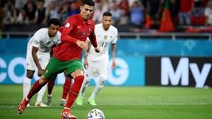 Portugal-França foi o mais visto do Euro 2020 até agora