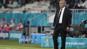"""""""Este é o passo certo"""": Fernando Santos elogiou Seleção após jogo com a França"""