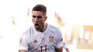 Espanha apurada para os oitavos de final do Euro 2020