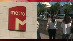 Greve no Metro de Lisboa condicionou circulação durante a manhã desta quinta-feira
