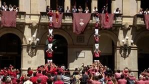 Torres humanas da Catalunha regressam após interregno de mais de um ano