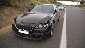 Alerta para acidente com carro onde seguia ministro da Administração Interna engana INEM